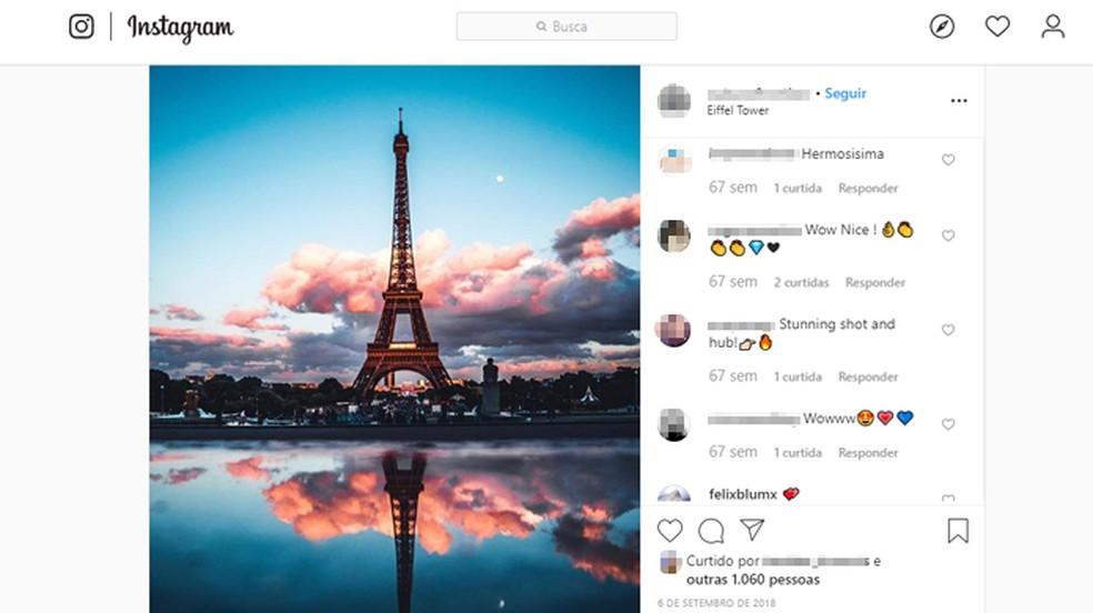 Eiffeli torni tuled on autoriõigusega kaitstud. Foto: Reproduo / Instagram