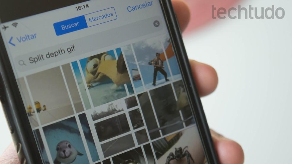 GIF-ide jagamine on riskidega seotud poleemika objekt. Foto: Marvin Costa / TechTudo