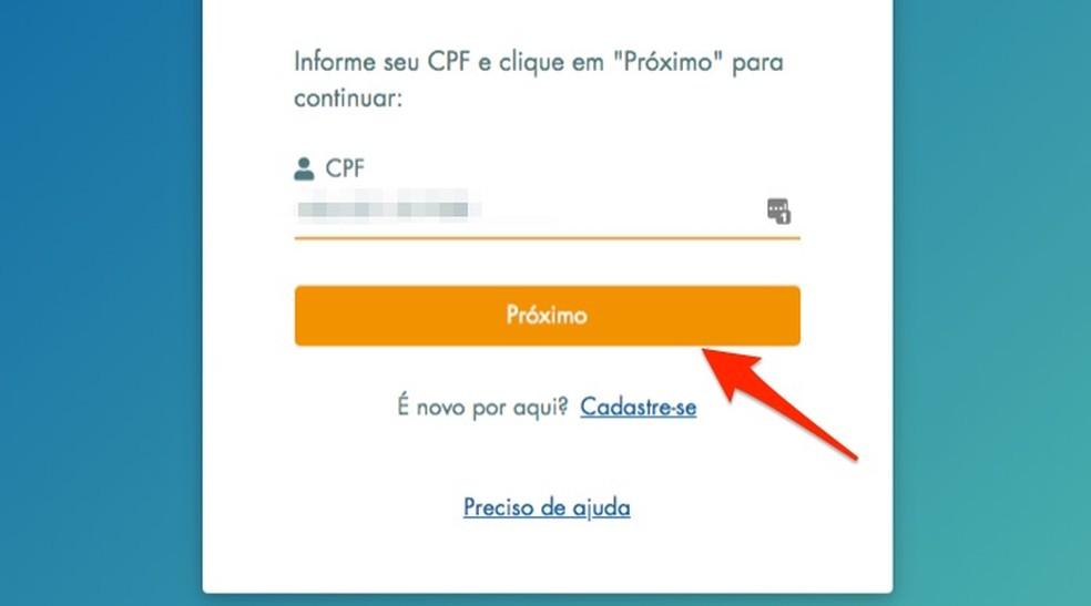 Millal alustada kasutajate sisselogimist Loterias da Caixa veebisaidil Foto: Reproduo / Marvin Costa