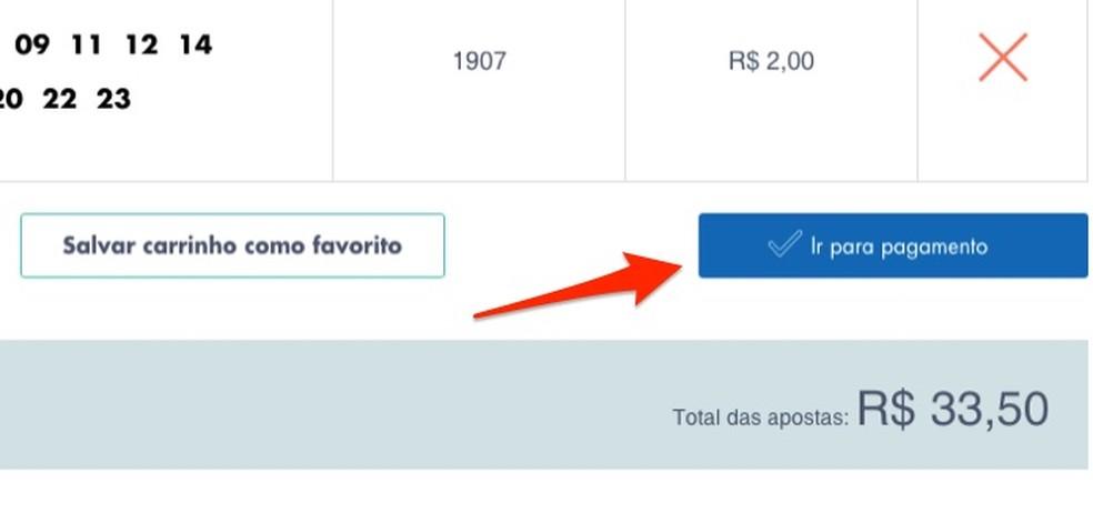 Loterias da Caixa veebisaidil kihlvedude lehtedele pääsedes Foto: Reproduo / Marvin Costa