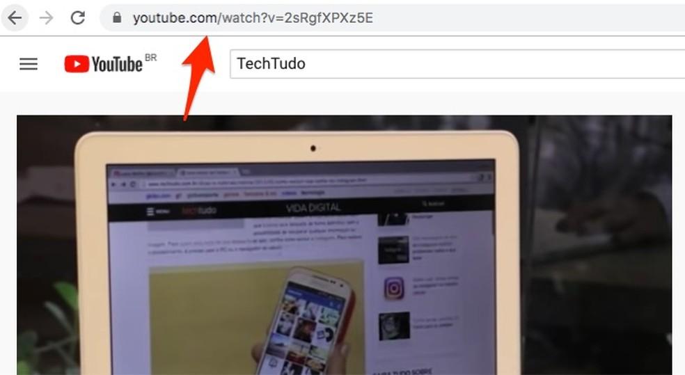 Valige brauseri fotoribal YouTube'is video URL: Reproduo / Marvin Costa