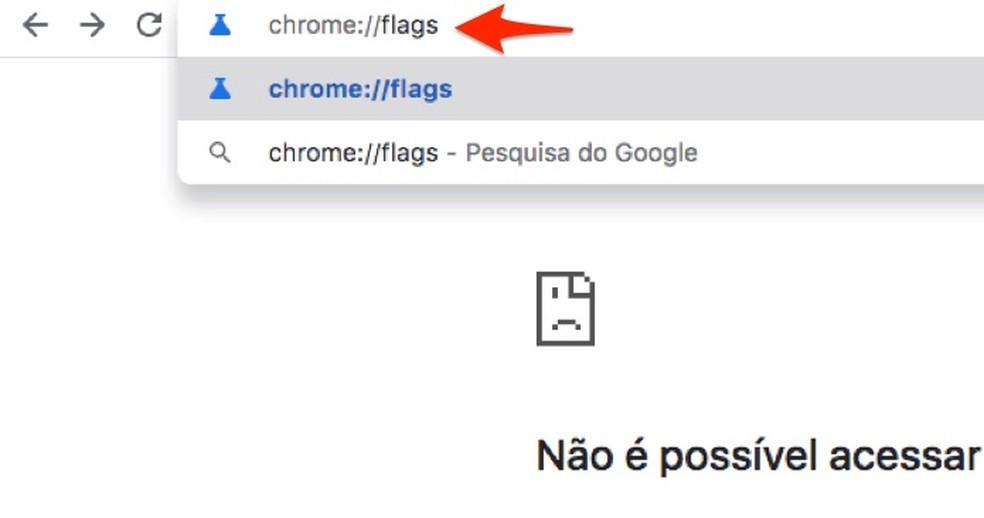 Millal näha Google Chrome Photosi eksperimentaalseid funktsioone: Reproduo / Marvin Costa