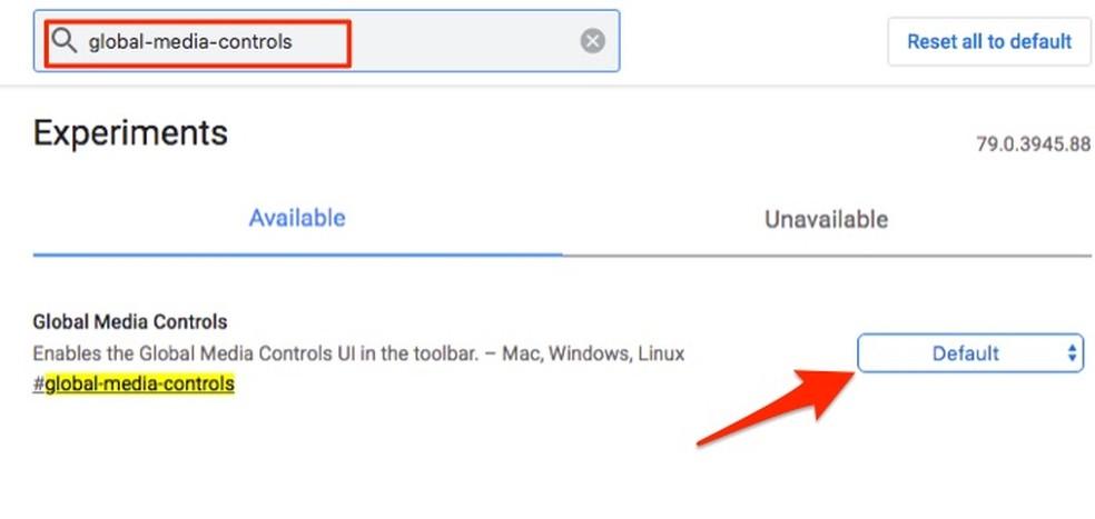 Millal leida võimalusi Google Chrome Photo meediumipleieri aktiveerimiseks: Reproduo / Marvin Costa