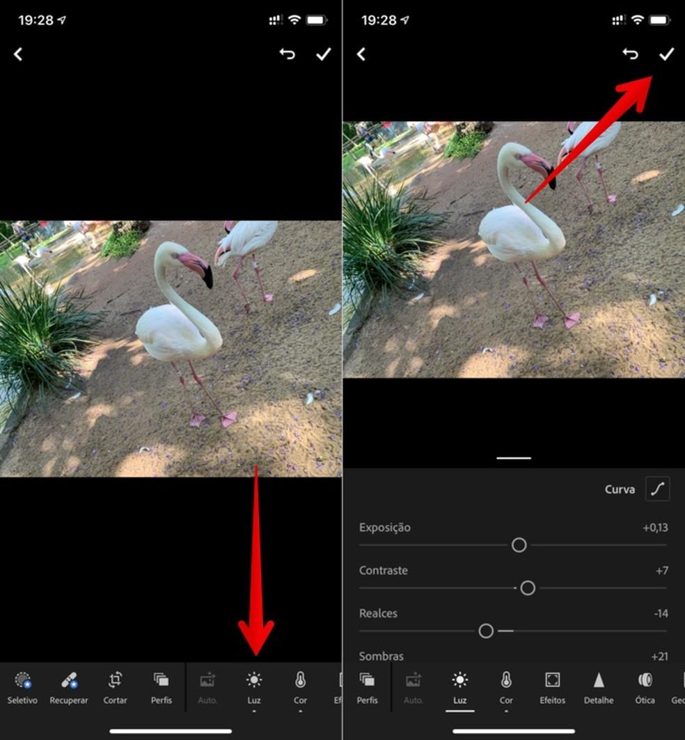 Tehke Adobe Lightroomi fotodel kergeid muudatusi Foto: Reproduo / Helito Beggiora
