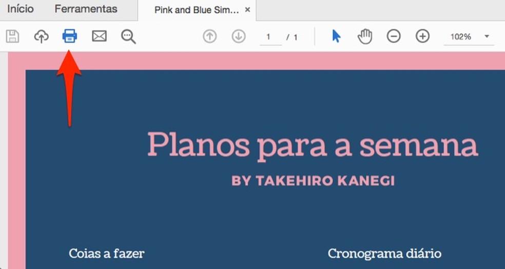 Millal trükkida veebiteenuste loodud planeerijaid Canva Foto: Reproduo / Marvin Costa
