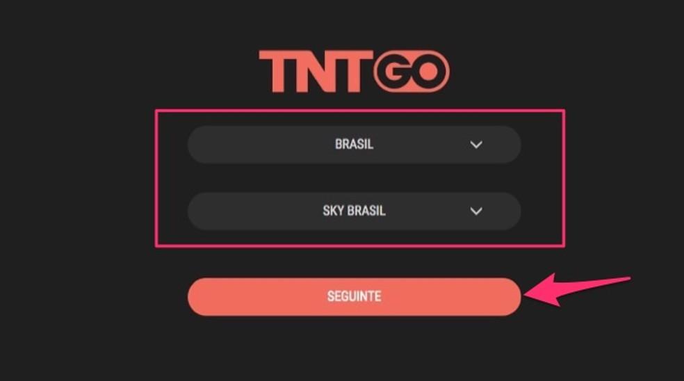 Kui konfigureerite operaatori sisselogimisekraani TNT-l Go Photo: Reproduo / Marvin Costa võrguteenus