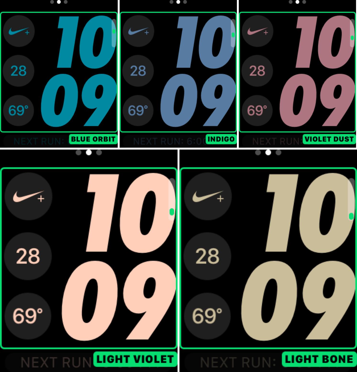 Uued värvid Apple Watchi esiküljel - watchOS 3.2