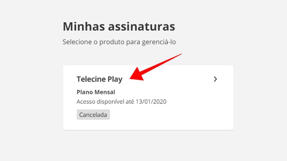 Valige tühistatud Telecine Play tellimuse fotod: Reproduo / Paulo Alves