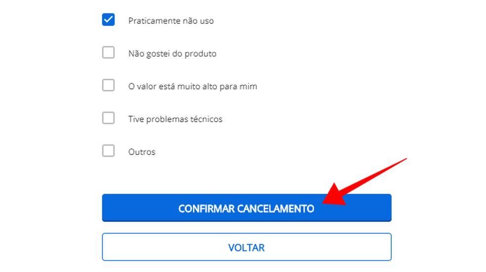 Kinnitage Telecine Play Foto tellimuse tühistamine: Reproduo / Paulo Alves