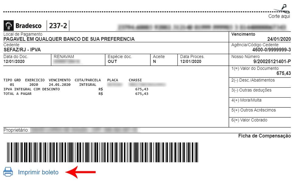 Printige pileteid ja tehke makseid akrediteeritud pangas või fotorakenduse kaudu: Reproduo / Ana Letcia Loubak