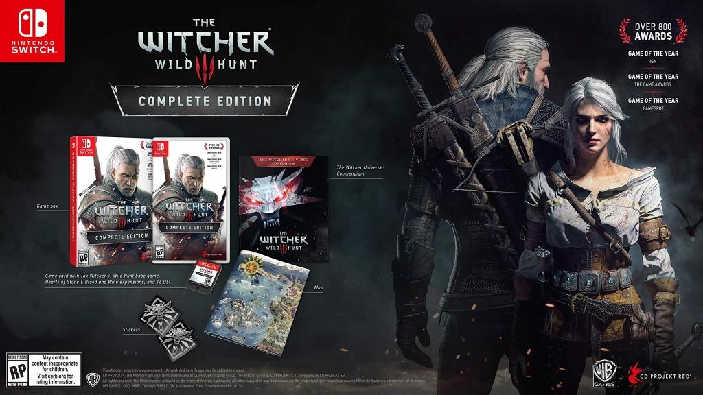 The Witcher 3 digitaalne versioon nõuab 28 GB ruumi! Lisaks oma kollektsiooni suurepärasele täiendusele kaaluge mängu füüsiliste koopiate korjamist