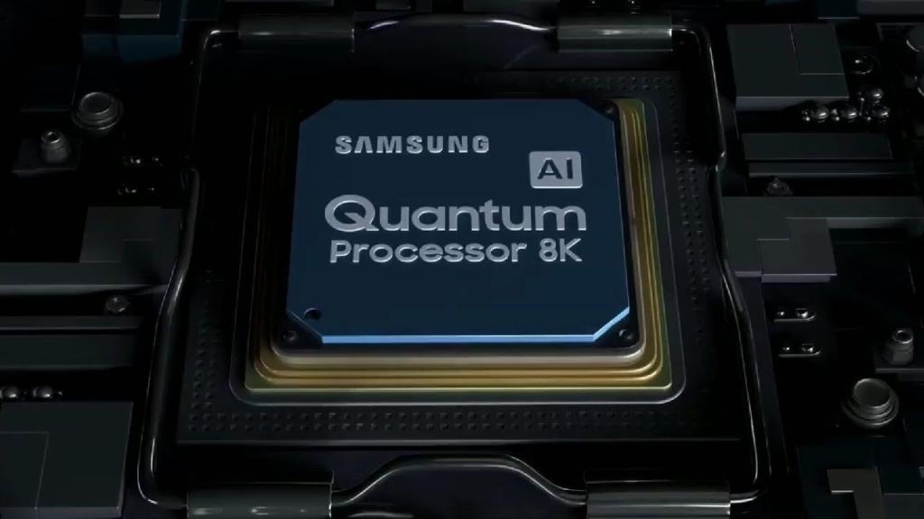 Uus kvantprotsessor AI kasutamiseks 8K sisu ja TV-heli parendamiseks (Esita: Samsung)