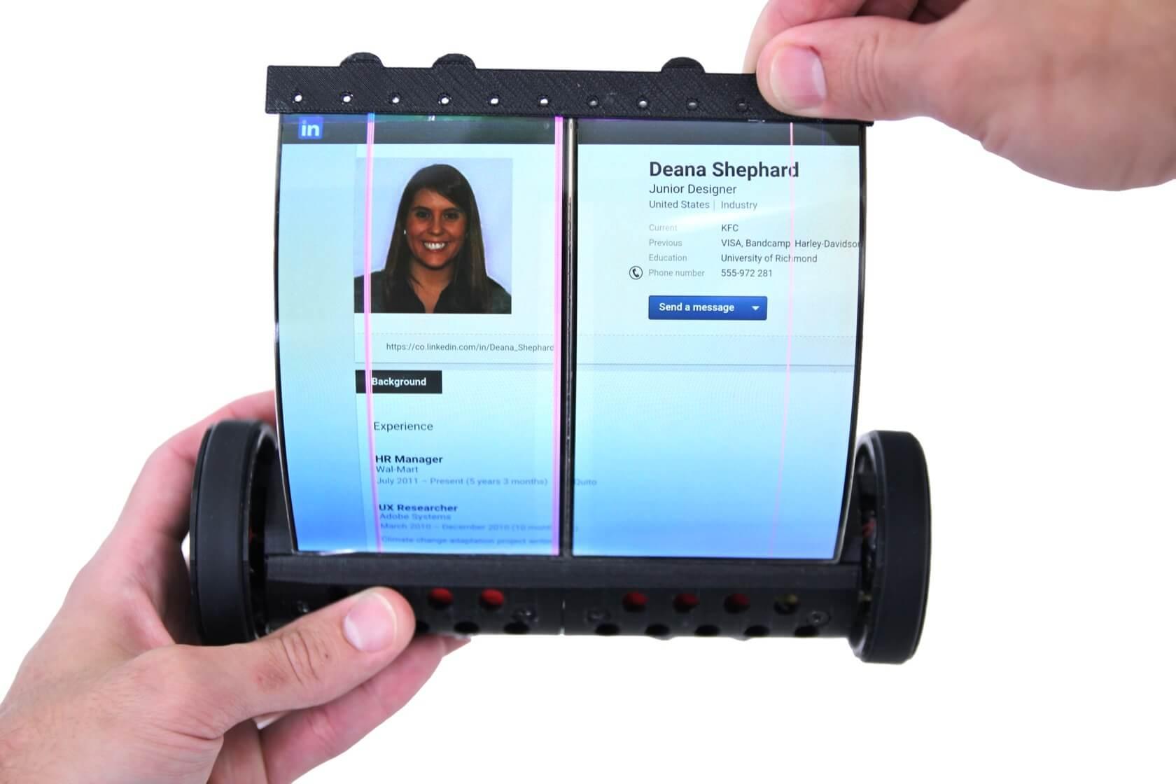 Tutvuge kerimisega inspireeritud keritava tahvelarvuti ekraaniga MagicScroll