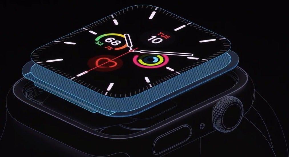 Apple Watch 5 muudab aku 18 tunniks vastupidavaks, isegi kui uus ekraan on alati sisse lülitatud