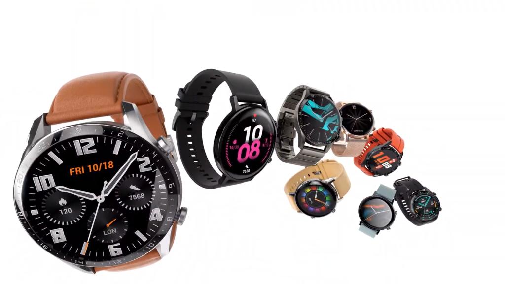 Suuremal GT 2 Watchil on ühest 3D-klaasist ehitatud elegantne disain, minimaalsete servadega