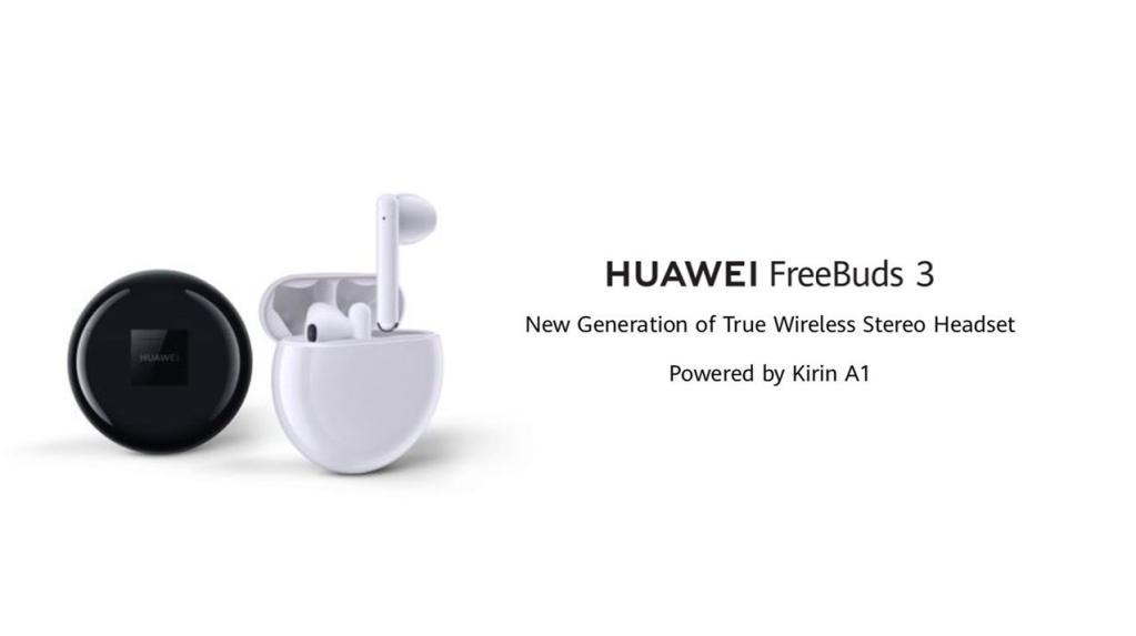 FreeBuds 3 kõrvaklapid on AirPods 2 ja Galaxy Budsi suurimad konkurendid