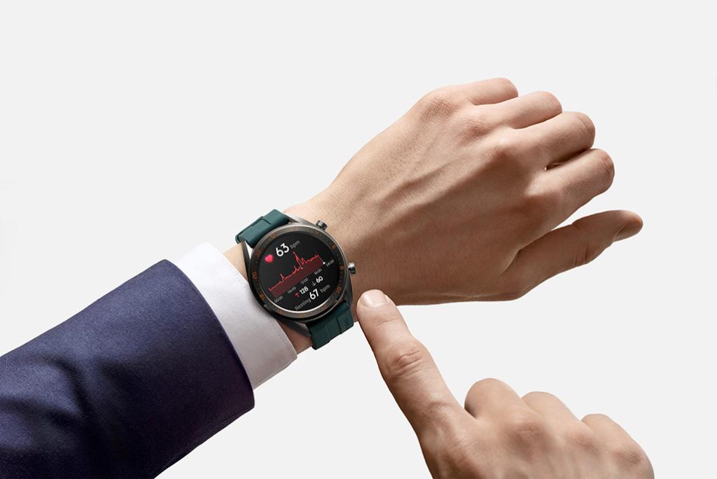Huawei Watch GT jälgib pulssi