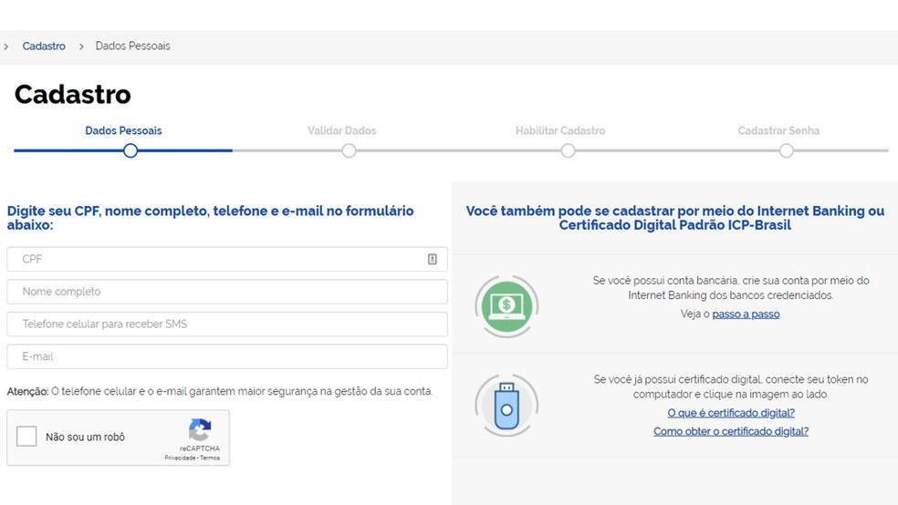 Töötuskindlustusplatvormi rakendusele juurdepääsuks on vaja kiiret veebipõhist registreerimist Foto: Reproduo / Paulo Alves