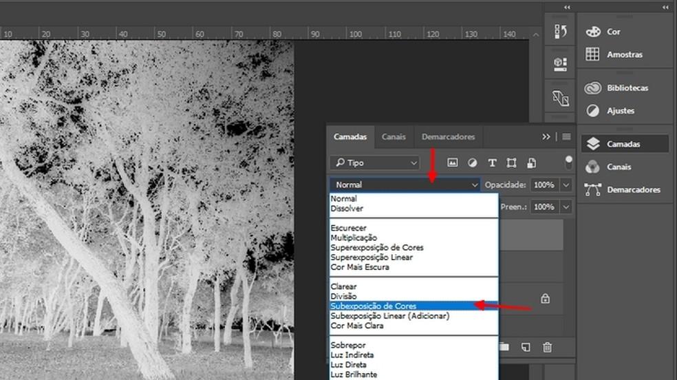 Lisage fotodele värvitoon Subexposure Foto: Reproduction / Joo Pedro Voltarelli