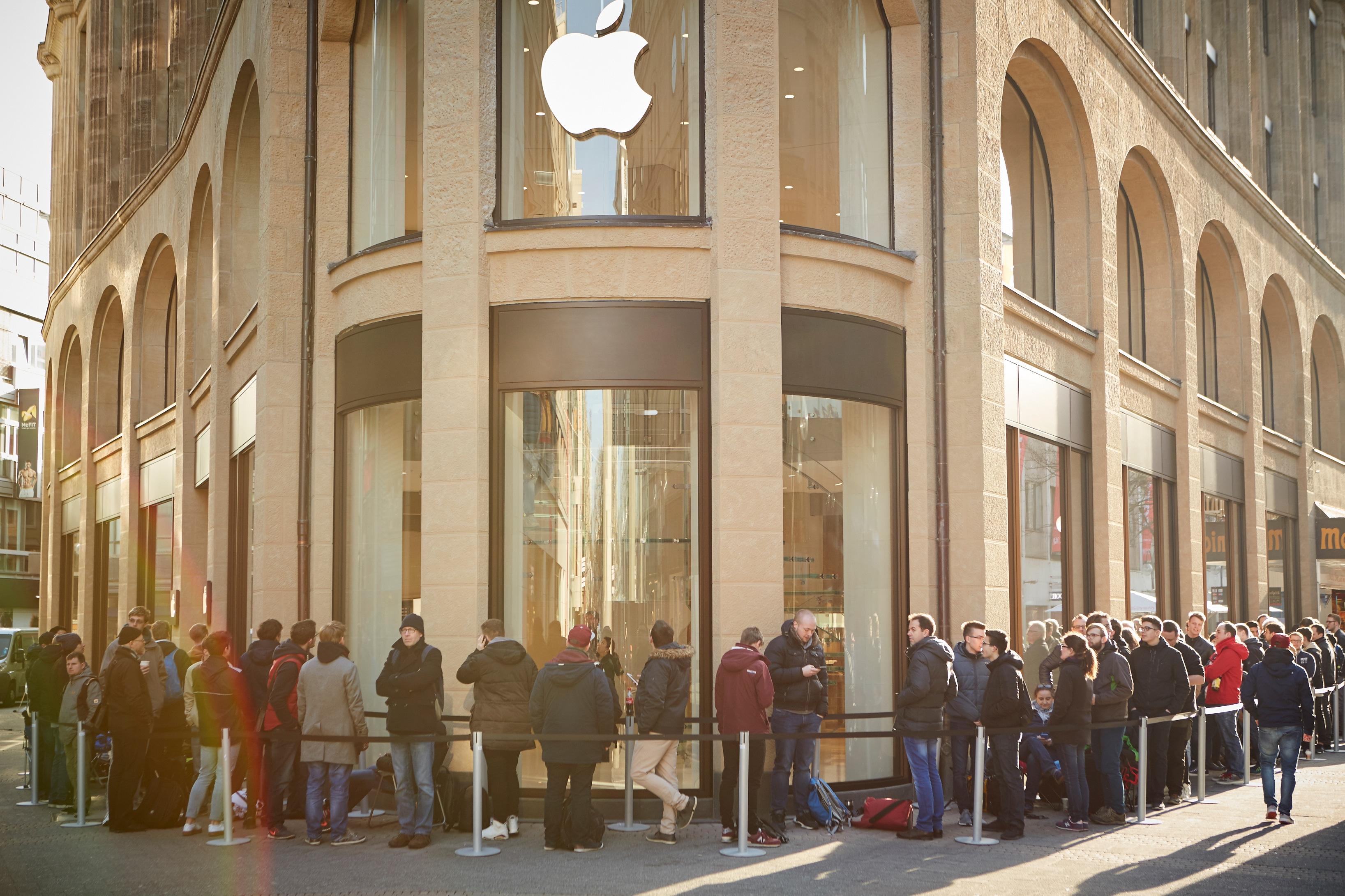 Apple Schildergasse Saksamaal
