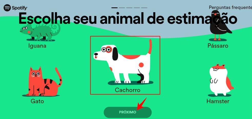 Spotify võimaldab teil luua esitusloendeid koertele, kassidele, lindudele, iguaanidele või hamstritele. Foto: Reproduo / Rodrigo Fernandes