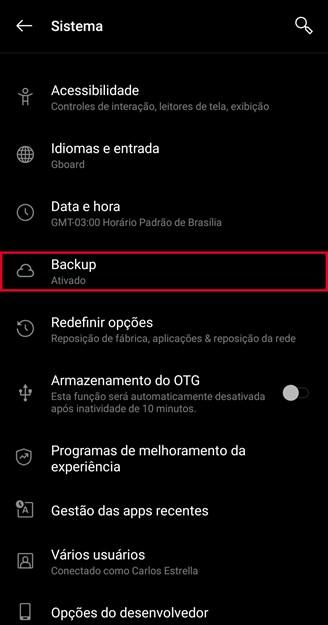 Android 9 varundamisekraan