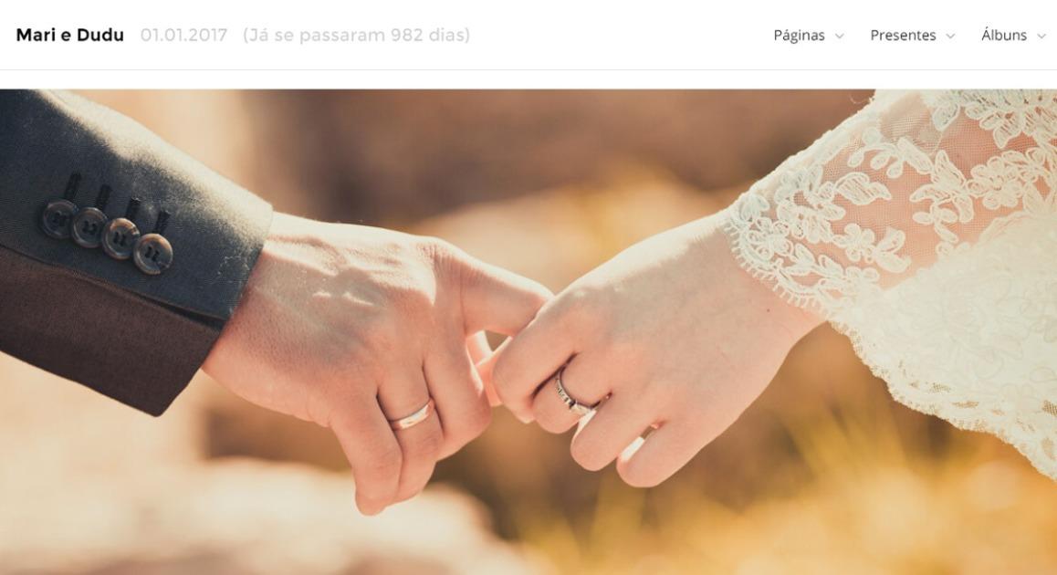 ICasei: kuidas luua pulmade veebisait kingituste nimekirjaga