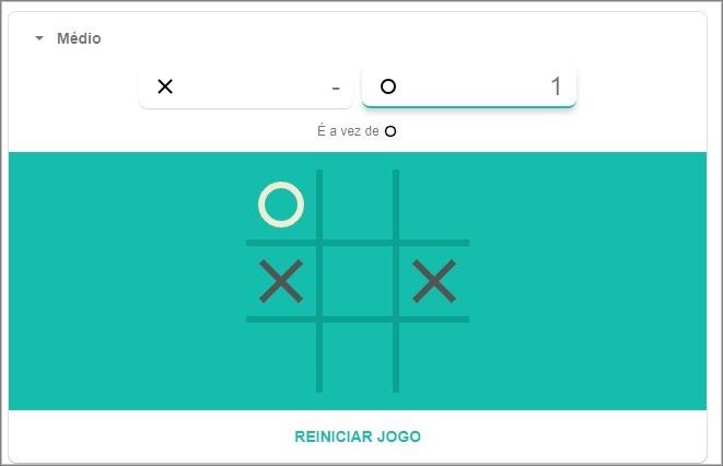 Google'i mängu Tic Tac Toe