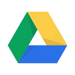 Google Drive'i rakenduse ikoon - salvestusruum