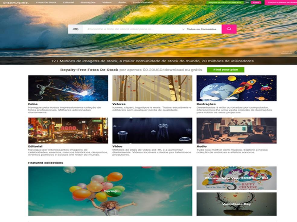 Dreamstime'i veebisaidil on 128 miljonit pilti Foto: Reproduo / Dreamstime