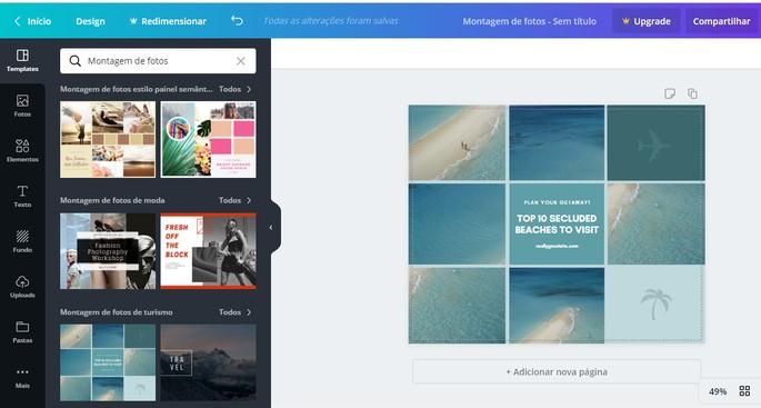 Photoshop Canva veebis