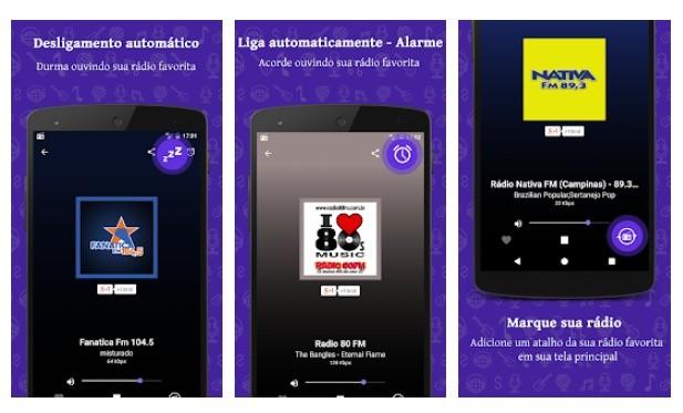 Rakendus Chromecast Radio FM