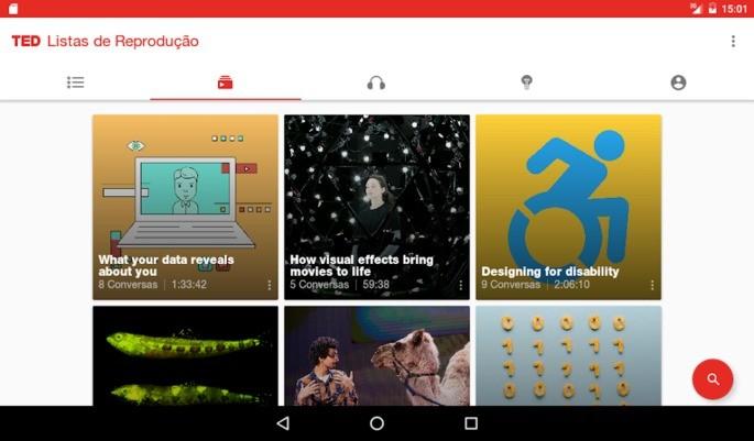 TED Chromecast rakendus