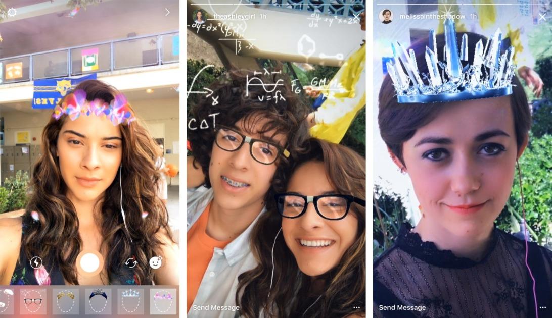 Filtrid ja peidetud efektid Instagrami lugudes: vaadake, kuidas leida