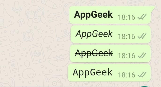 WhatsApi allika muutmine