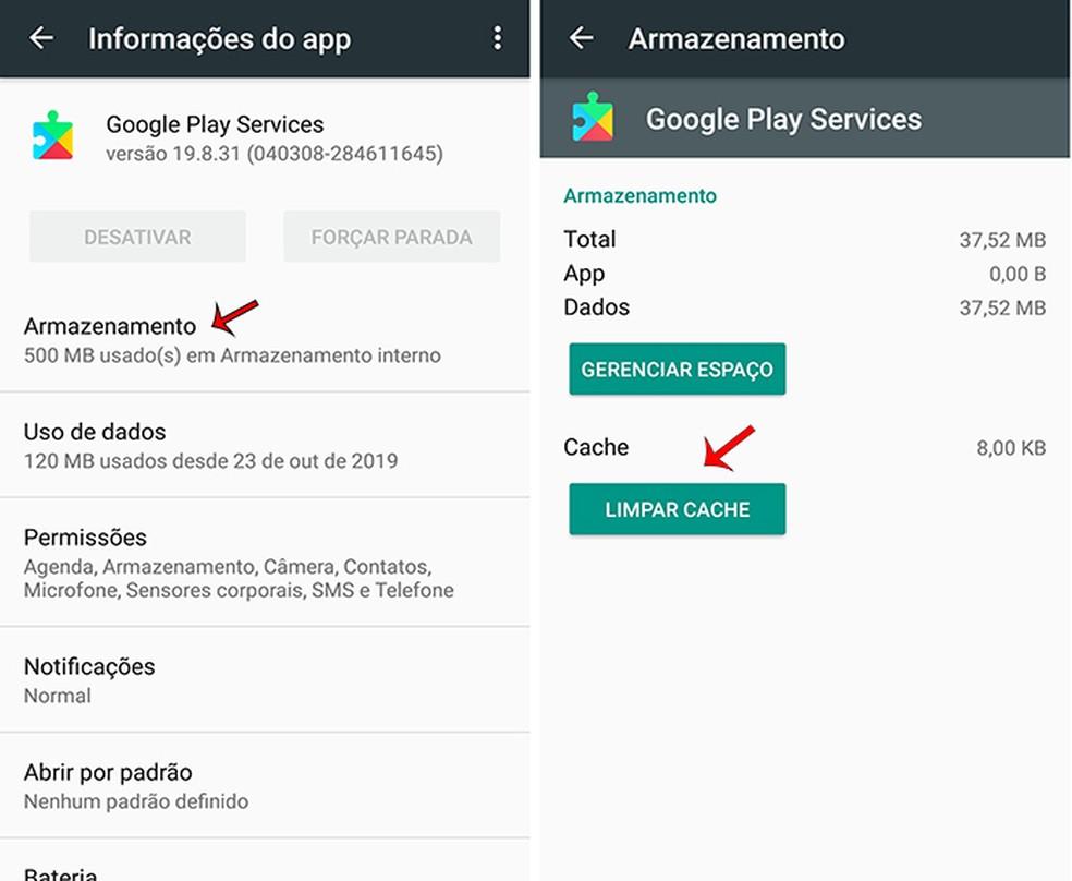 Google Play fototeenuste värskendamiseks vaadake 4. sammu: Marcela Franco / TechTudo