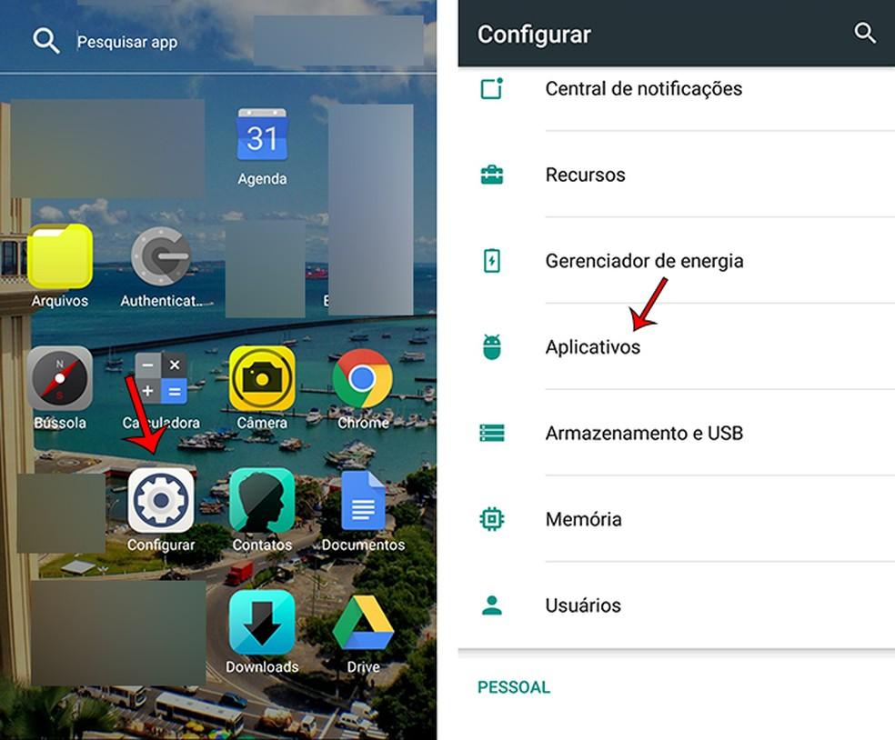 Google Play fototeenuste värskendamiseks vaadake 1. sammu: Marcela Franco / TechTudo