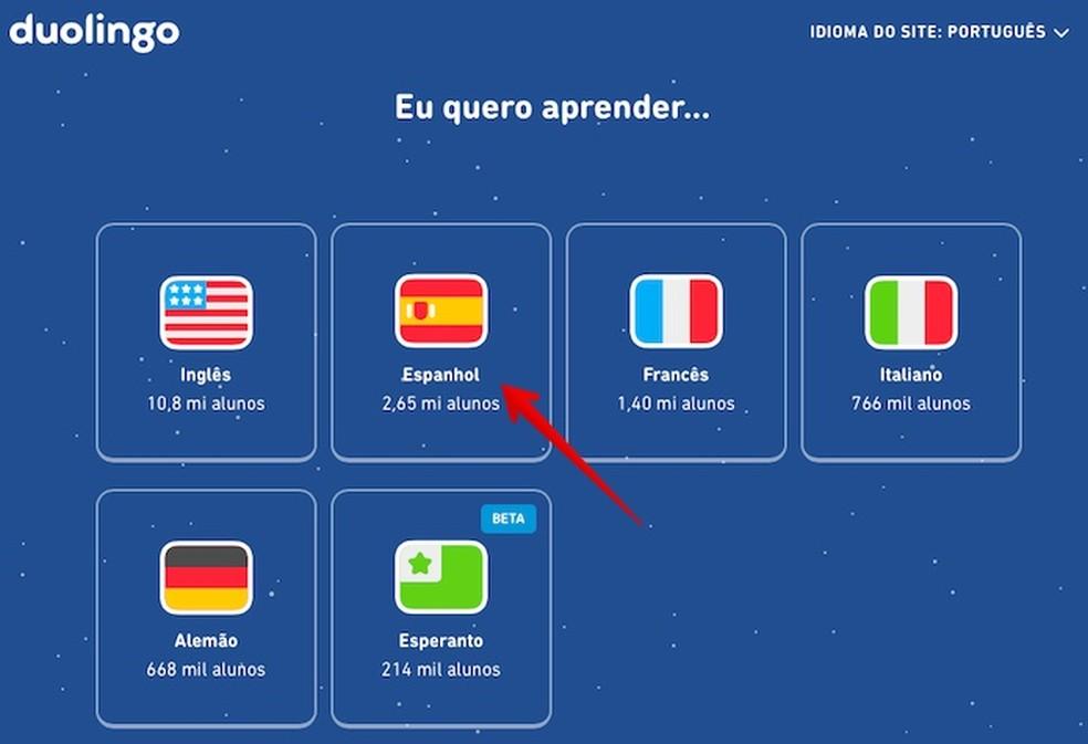 Duolingo foto algkonfiguratsioon: Reproduo / Helito Beggiora