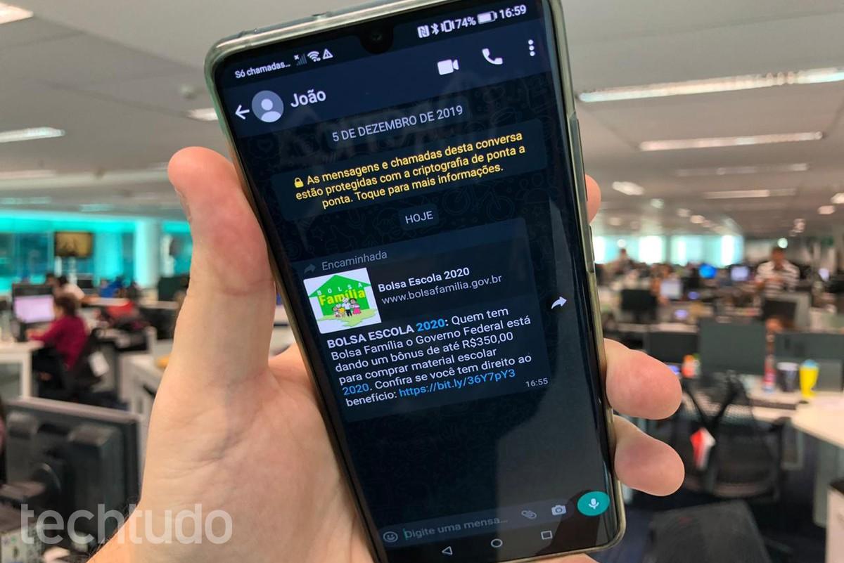 Kelmuse Bolsa Famlia ulatub WhatsApp | -il miljonini Sotsiaalmeedia