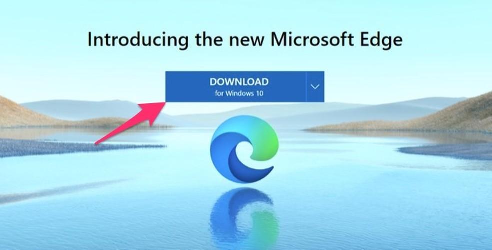 Millal alustada Windowsi foto jaoks mõeldud Microsoft Edge'i uue versiooni allalaadimist: Reproduo / Marvin Costa