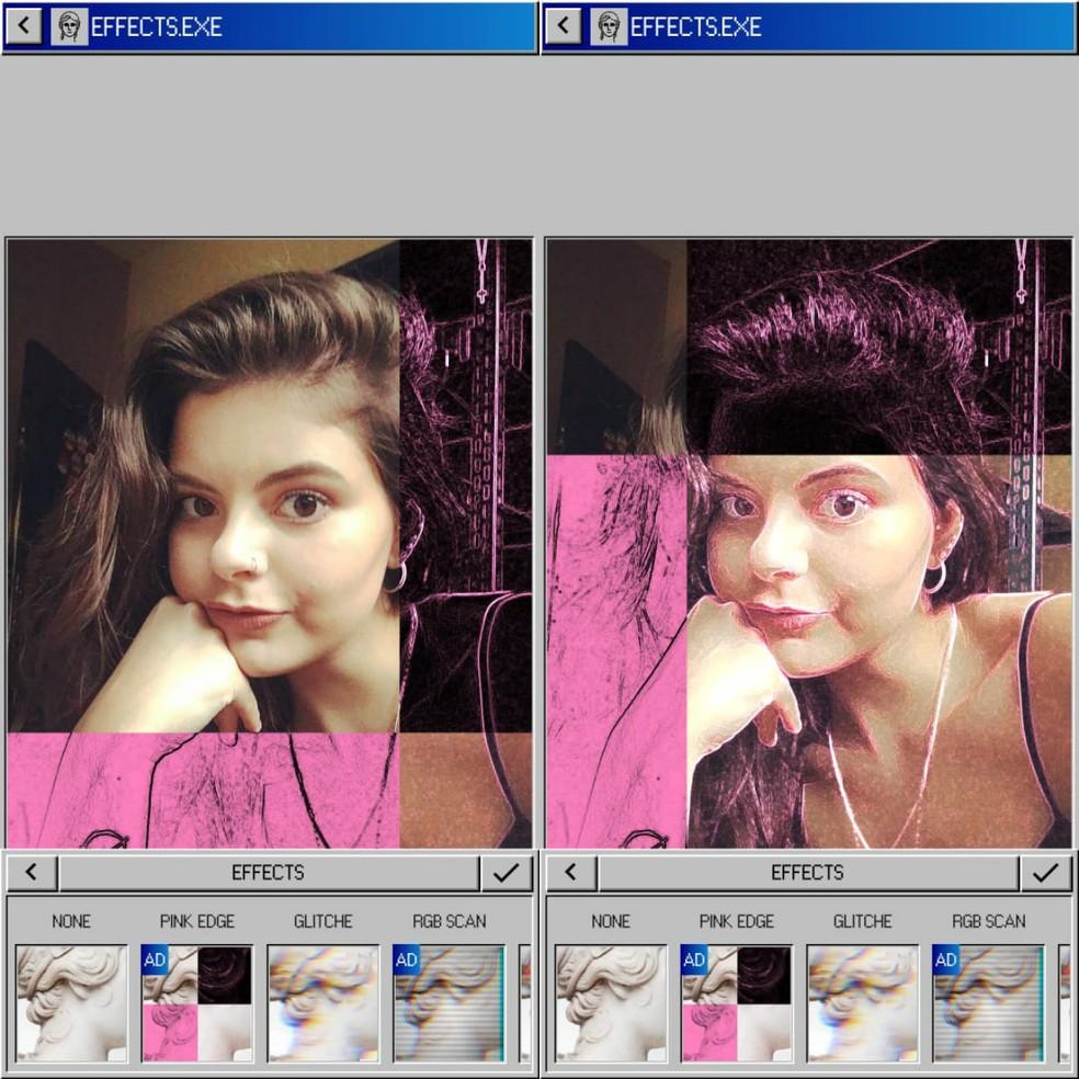 Vaporgram on rakendus Tumblr Photos: Reproduction / Clara Fabro fotode redigeerimiseks