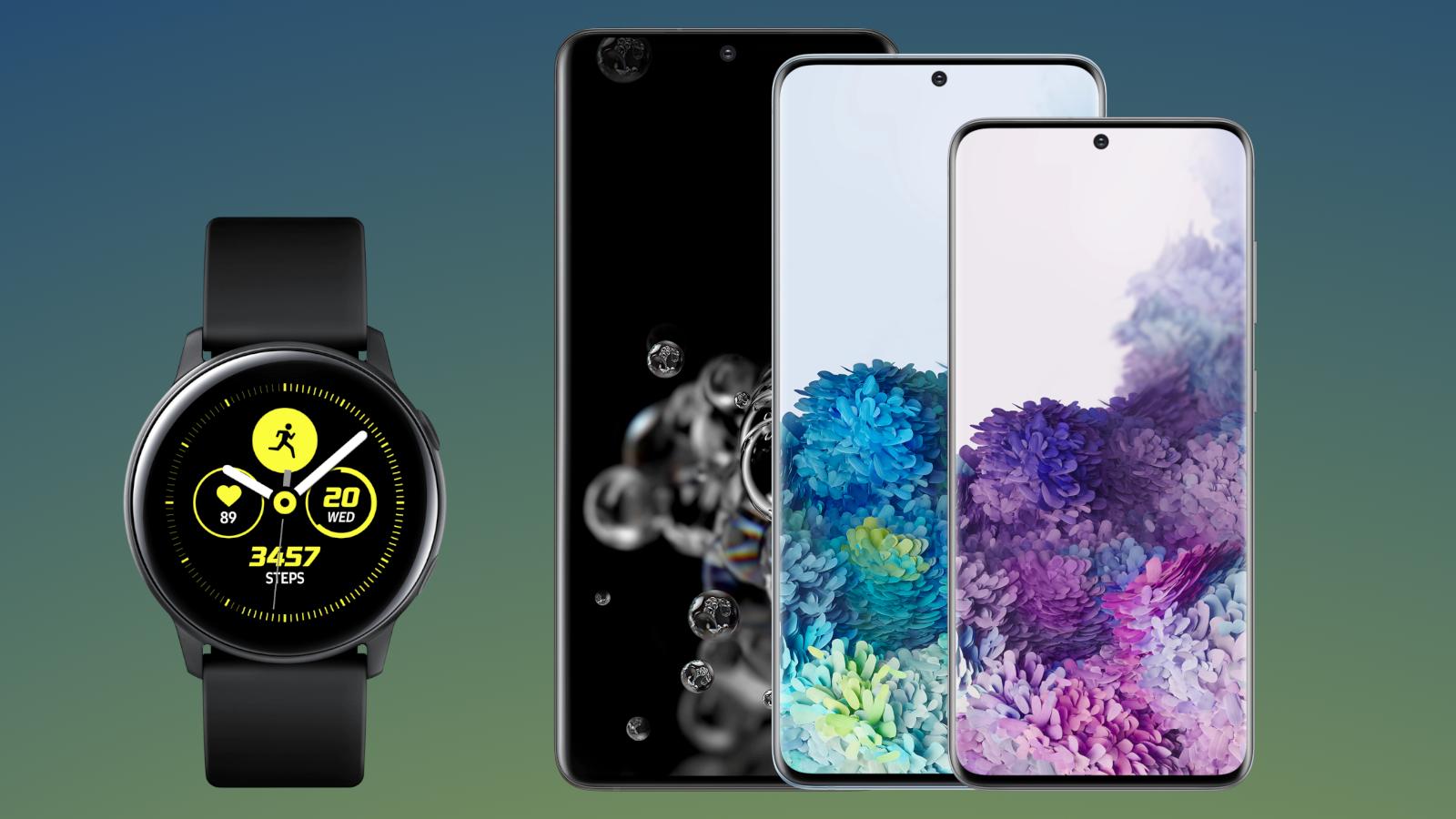 Ostke Galaxy S20 ja saate tasuta Samsung Galaxy Watch Active 2