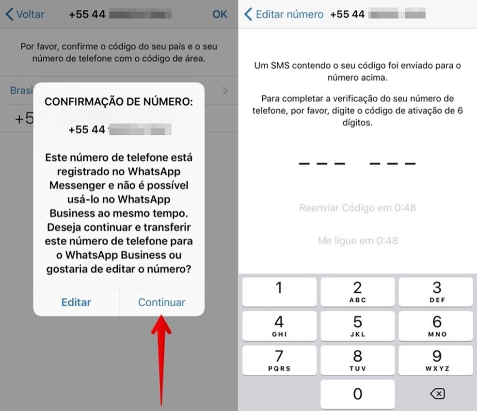 Kinnitage oma telefoninumber saidil WhatsApp Business Photo: Reproduo / Helito Beggiora