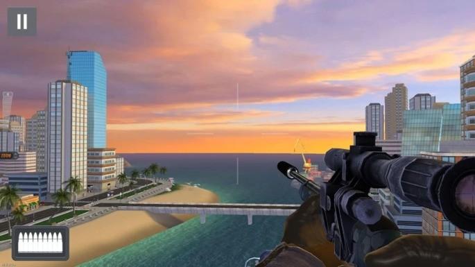 Sniper 3D Assassin on parim androidi offline mäng