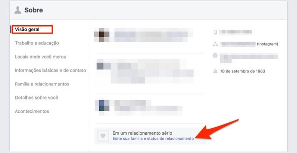 Millal avada Facebooki suhte oleku värskenduse tööriist Foto: Reproduo / Marvin Costa
