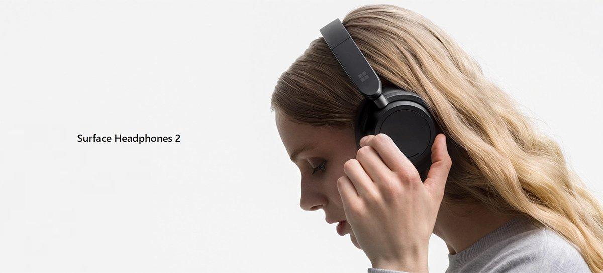 Uus Microsoft Surface Headphones 2 tagab aku kestvuse kuni 20 tundi