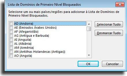 Teatud riikide sõnumite blokeerimine Kuidas blokeerida Outlookis e-kirju