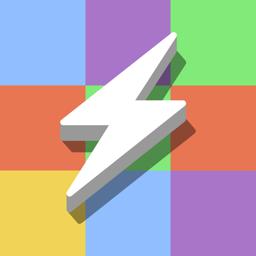 Värvilise magneti rakenduse ikoon