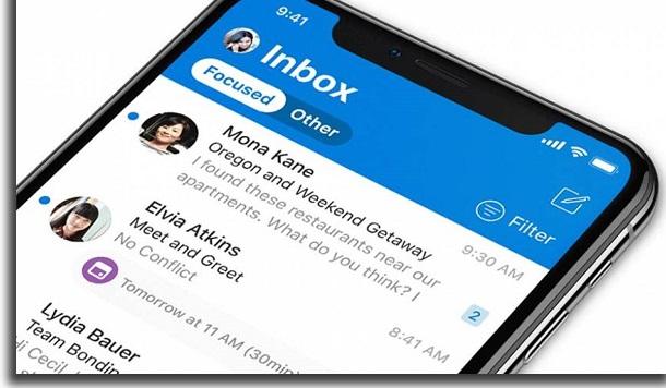 Microsoft Outlooki mobiiliposti rakendus
