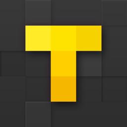 Telesaja rakenduse ikoon: jälgige sarju ja filme